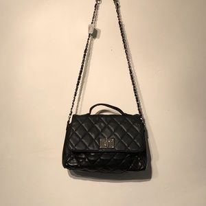 Quilted Patent crossbody